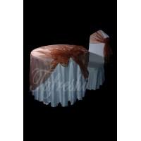 قلفتی سفید با حریر شکلاتی