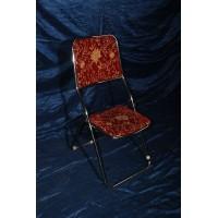 صندلی تاشو زرشکی