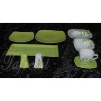 سرویس چینی سبز