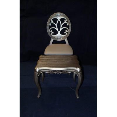 میز عسلی چوبی و  شیشه ای